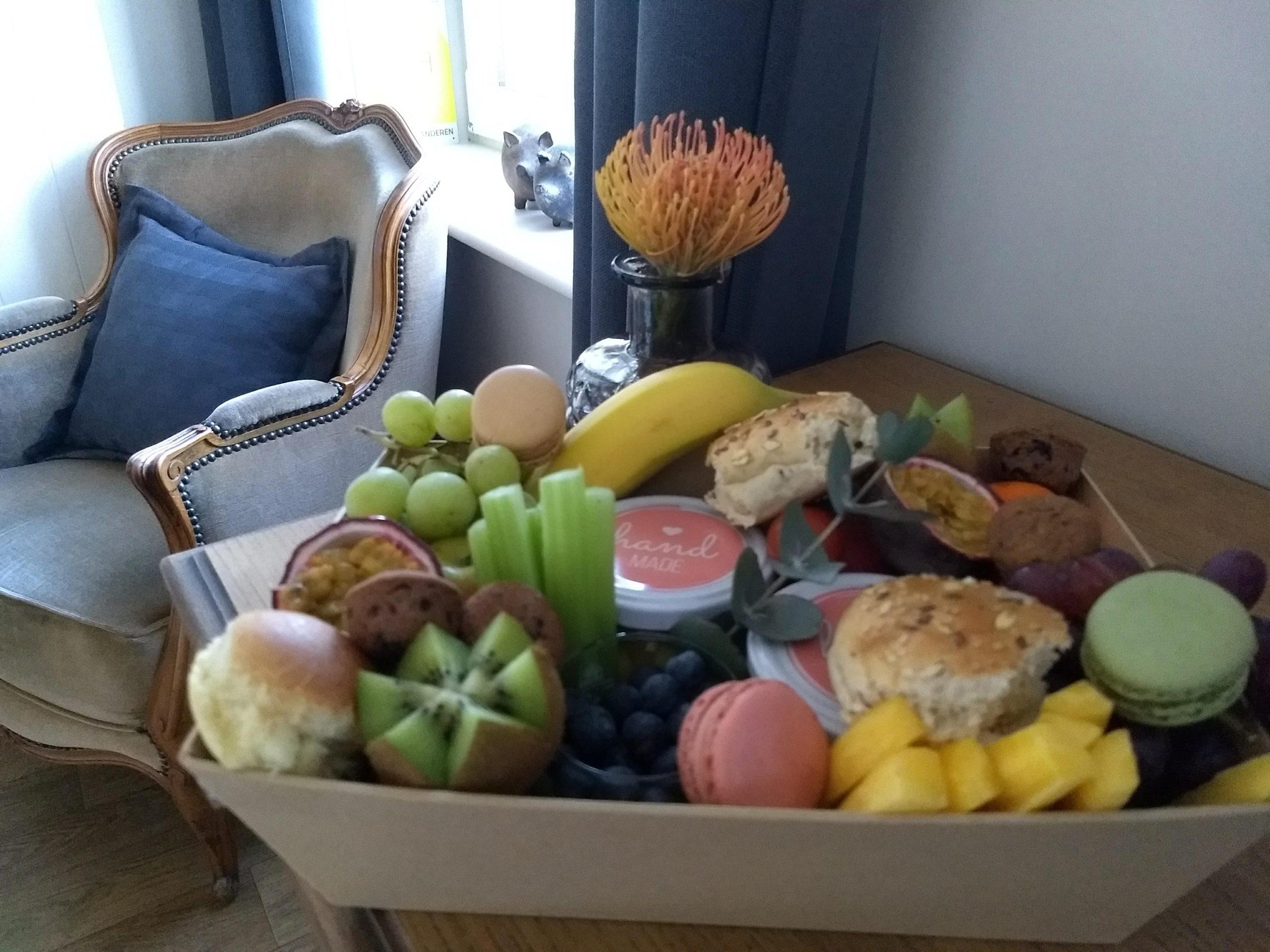 veel fruit en zoet